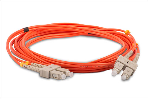 SC to SC Multimode 62.5/125 Fiber Optic Cable