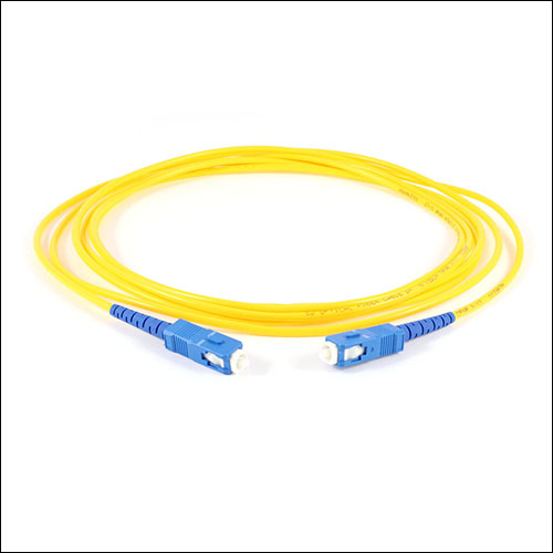SC to SC Single-Mode 8.3/125 Fiber Optic Cable